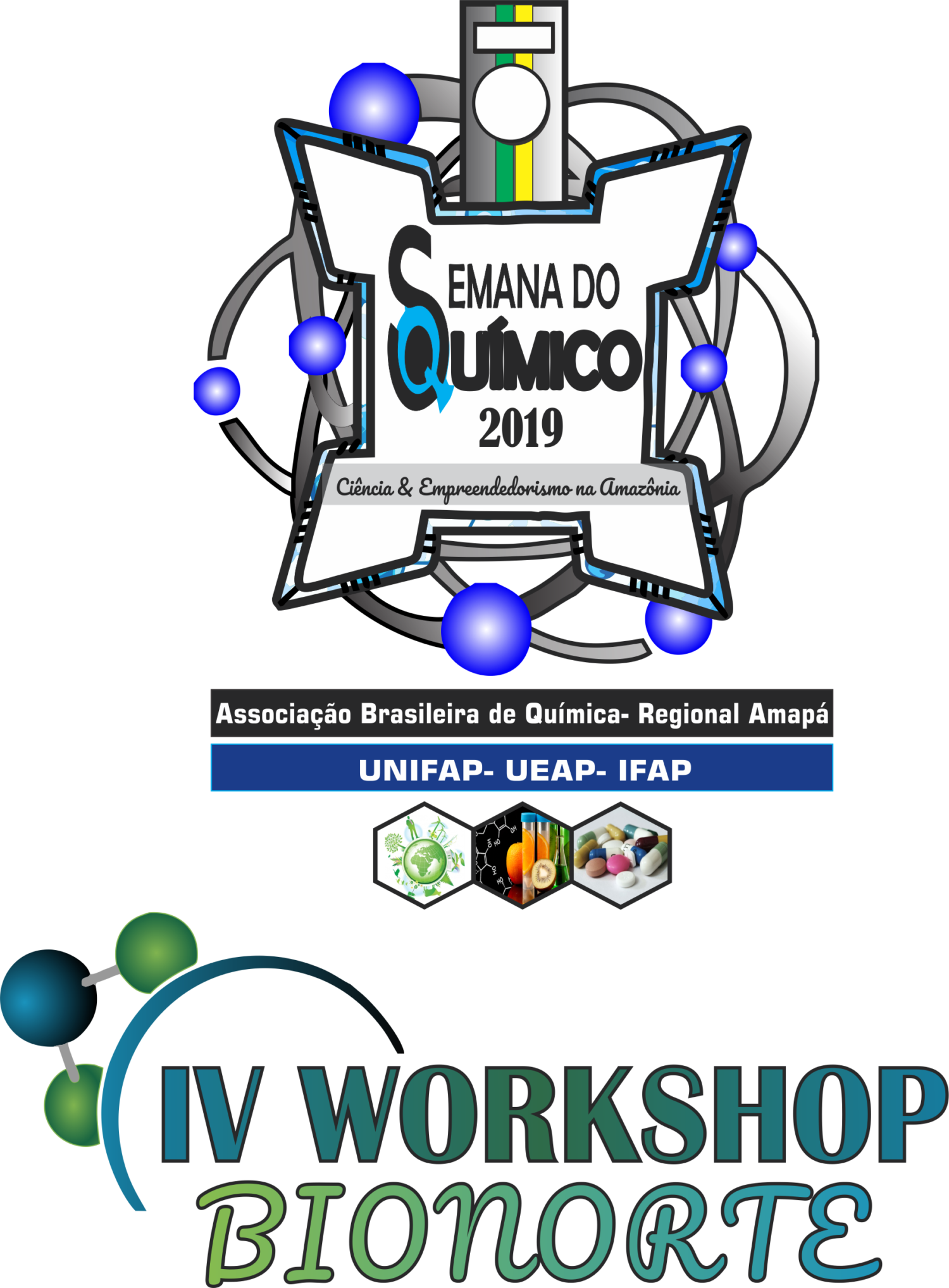 Semana do Químico 2019 e IV Workshop da Rede Bionorte